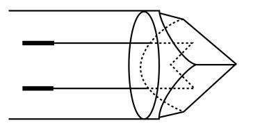 Miroir plan coin de cube for Optique miroir plan